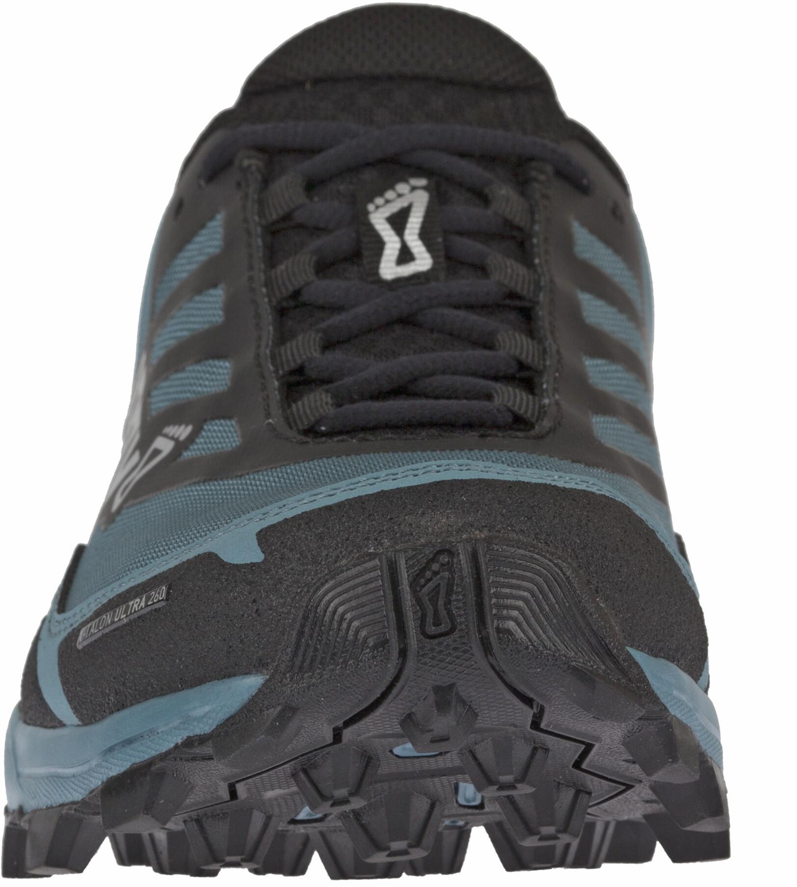sur inov X Femme 8 Ultra grisbleu Chaussures running Talon 260 OTXikZPu